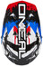 ONeal Backflip Fidlock Fullfacehjälm RL2 Shocker blå/svart